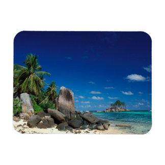 Seychelles, Mahe Island, Anse Royale Beach. Magnet