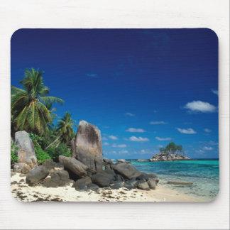 Seychelles, Mahe Island, Anse Royale Beach. Mouse Pad