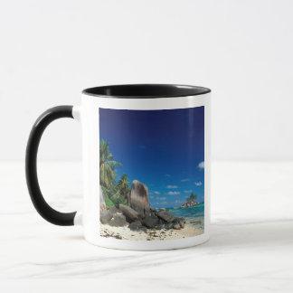 Seychelles, Mahe Island, Anse Royale Beach. Mug