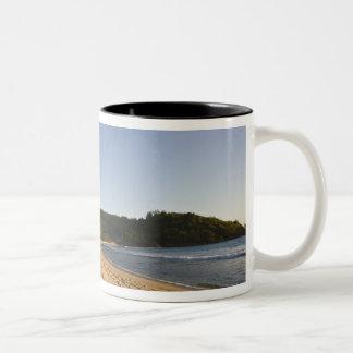Seychelles, Mahe Island, Anse Takamaka beach, 2 Two-Tone Coffee Mug