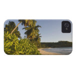 Seychelles, Mahe Island, Anse Takamaka beach, iPhone 4 Case-Mate Case