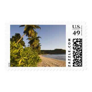 Seychelles, Mahe Island, Anse Takamaka beach, Postage