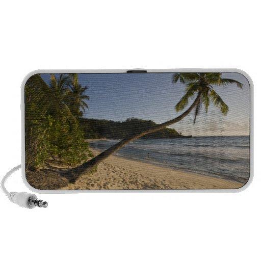 Seychelles, Mahe Island, Anse Takamaka beach, Speaker