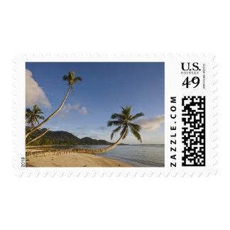 Seychelles, Mahe Island, horizontal palm, Postage