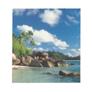Seychelles, Mahe Island, Lazare Bay Notepad