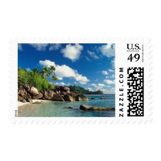 Seychelles, Mahe Island, Lazare Bay Postage Stamp