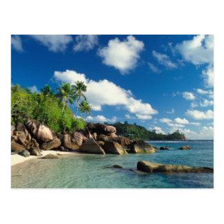 Seychelles, Mahe Island, Lazare Bay Postcard