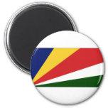 Seychelles National Flag Fridge Magnet