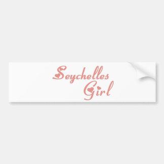 Seychelles Pegatina Para Auto