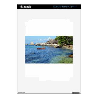 Seychelles que sorprenden iPad 3 skins