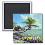 Seychelles Refrigerator Magnet