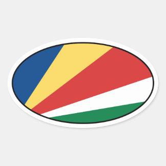 Seychelles señalan al pegatina por medio de una