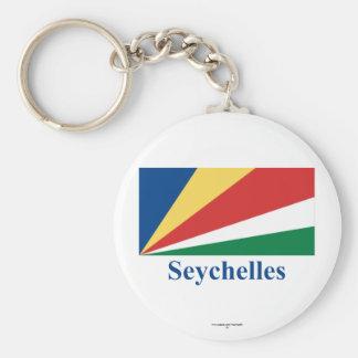 Seychelles señalan por medio de una bandera con no llavero
