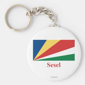 Seychelles señalan por medio de una bandera con no llaveros personalizados