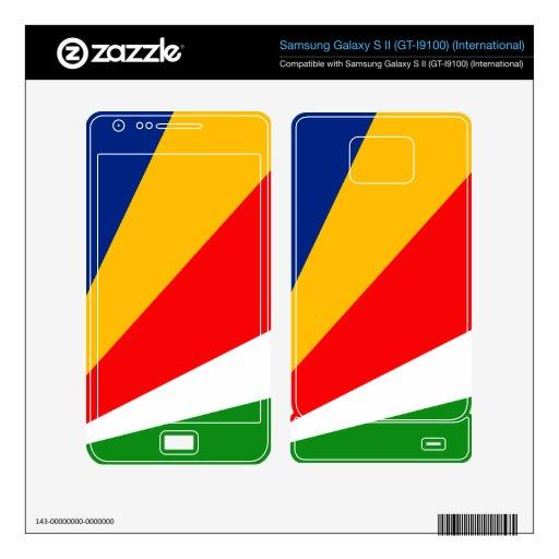 Seychelles Samsung Galaxy S II Decal