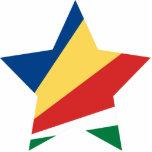 Seychelles Star Photo Cutouts