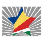 Seychelles Star Post Cards