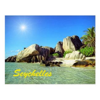 Seychelles Tarjeta Postal