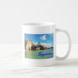 Seychelles Taza Básica Blanca