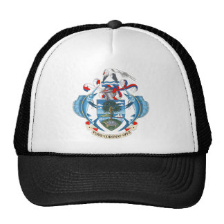 SeychellesCoat of Arms Mesh Hat