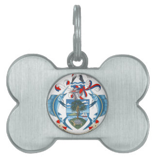 SeychellesCoat of Arms Pet ID Tag