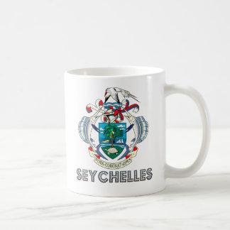 Seychellois Emblem Coffee Mug