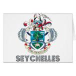 Seychellois Emblem Greeting Card