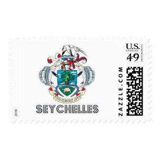 Seychellois Emblem Stamp