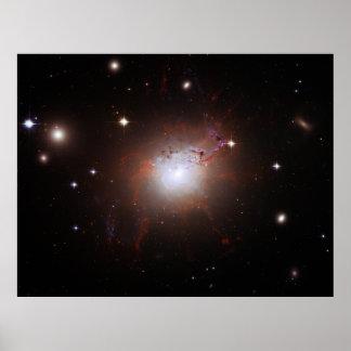 Seyfert Galaxy NGC 1275 Perseus A Caldwell 24 Poster
