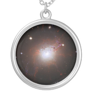 Seyfert Galaxy NGC 1275 Perseus A Caldwell 24 Silver Plated Necklace