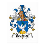Seyfried Family Crest Postcards