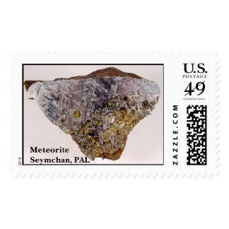 Seymchan1, meteorito Seymchan, PAL Estampilla
