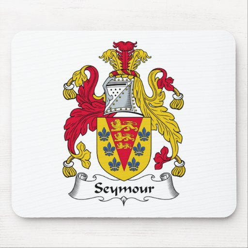 Seymour Family Crest Mouse Mats