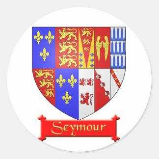 Seymour Heraldic Sticker