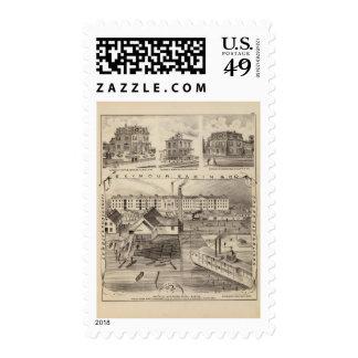Seymour, Sabinand County, Minnesota Postage Stamps