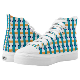 Sez Peg High-Top Sneakers