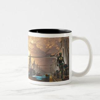 sf3012 Two-Tone coffee mug