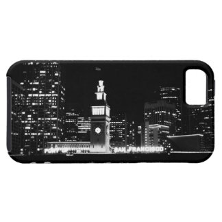 SF at night B&W Case-Mate Vibe iPhone 5 Case