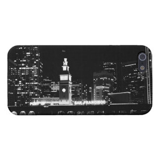 SF at night Back & White Case Savvy iPhone 5 #2