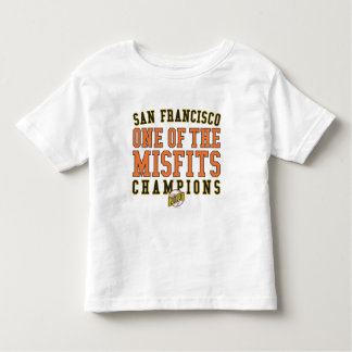 SF Baseball 'One of the Misfits' 2010 Champions Toddler T-shirt