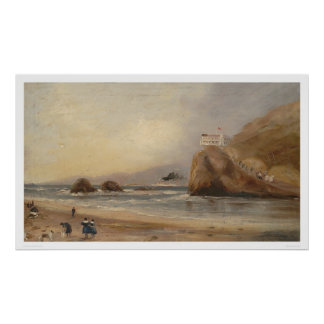 SF beach, Seal Rock, and Cliff House (1166) Poster