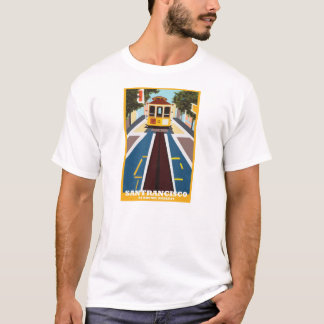 SF Cable Car Tee by Rhonel