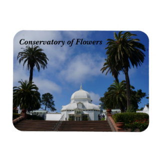 SF Conservatory of Flowers #1 Magnet