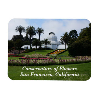 SF Conservatory of Flowers #3 Magnet