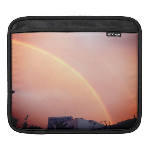 Sf doble del arco iris funda para iPads