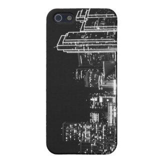 SF en el caso del iphone 5 de la noche iPhone 5 Carcasa