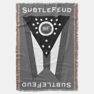 SF Flag Throw Blanket