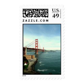 SF Golden Gate Bridge Postage