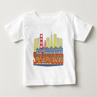 SF Golden Skyline Baby T-Shirt