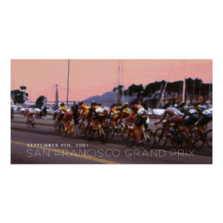 SF Grand Prix Bicycle Race 2001 Poster